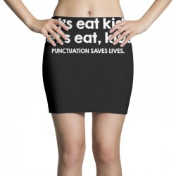 punctuation saves lives Mini Skirts   Artistshot