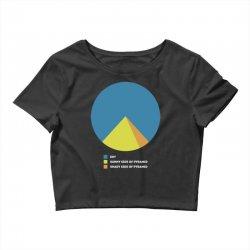 pyramid pie Crop Top | Artistshot