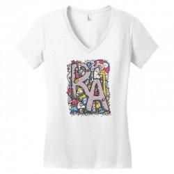 ra Women's V-Neck T-Shirt | Artistshot
