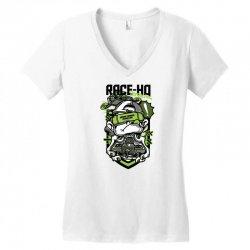 race hq Women's V-Neck T-Shirt | Artistshot