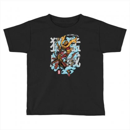 Rage Raccoon Toddler T-shirt Designed By Daudart