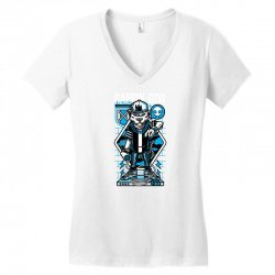 rappin god Women's V-Neck T-Shirt | Artistshot
