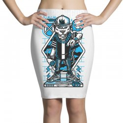 rappin god Pencil Skirts | Artistshot