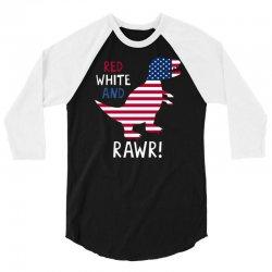 rawr! 3/4 Sleeve Shirt | Artistshot
