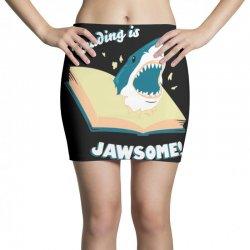 reading is jawsome Mini Skirts | Artistshot