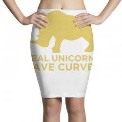real unicorns have curves Pencil Skirts   Artistshot