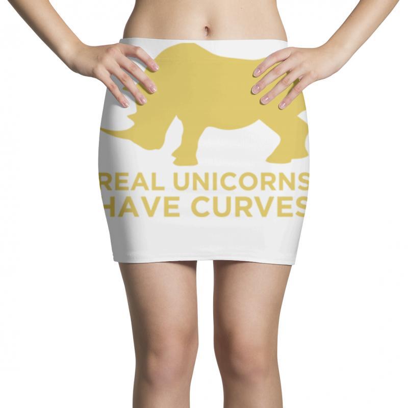 Real Unicorns Have Curves Mini Skirts   Artistshot