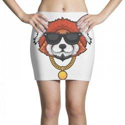 red panda hip hop Mini Skirts | Artistshot