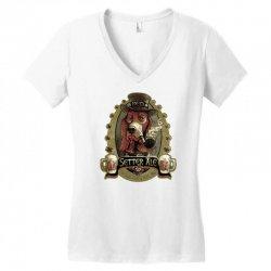 red setter irish ale Women's V-Neck T-Shirt | Artistshot