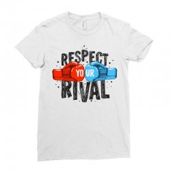 respect your rival Ladies Fitted T-Shirt | Artistshot