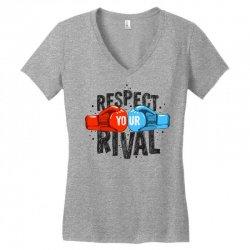 respect your rival Women's V-Neck T-Shirt | Artistshot