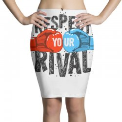 respect your rival Pencil Skirts | Artistshot