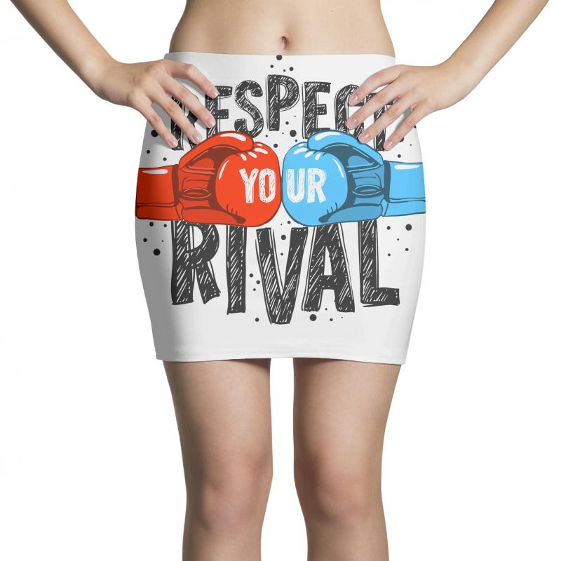 Respect Your Rival Mini Skirts | Artistshot