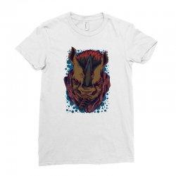 rhino boss Ladies Fitted T-Shirt | Artistshot