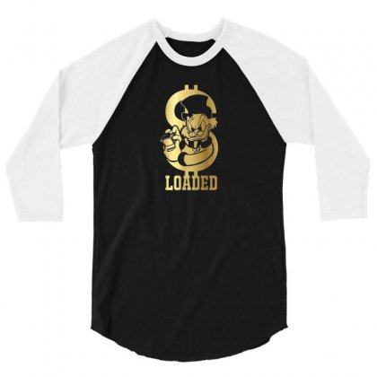 Loaded 3/4 Sleeve Shirt Designed By Disgus_thing