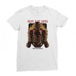 rise king Ladies Fitted T-Shirt | Artistshot