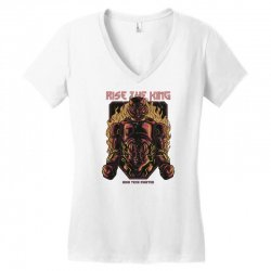 rise king Women's V-Neck T-Shirt | Artistshot