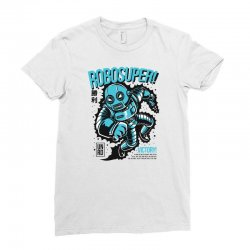 robosuper Ladies Fitted T-Shirt | Artistshot