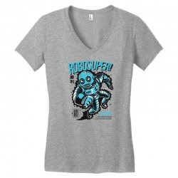 robosuper Women's V-Neck T-Shirt | Artistshot