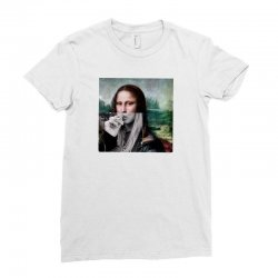 funny mona Ladies Fitted T-Shirt | Artistshot