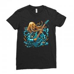 rock girl Ladies Fitted T-Shirt | Artistshot