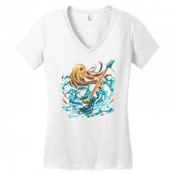 rock girl Women's V-Neck T-Shirt | Artistshot