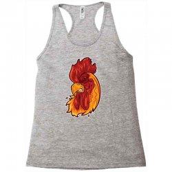 rooster head 1 Racerback Tank | Artistshot