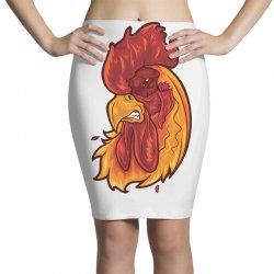 rooster head 1 Pencil Skirts | Artistshot
