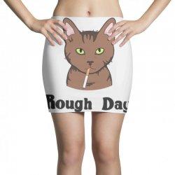 rough day Mini Skirts   Artistshot