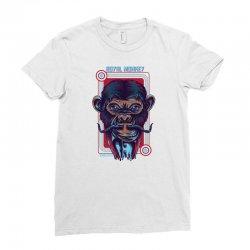 royal monkey Ladies Fitted T-Shirt | Artistshot