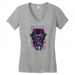royal monkey Women's V-Neck T-Shirt | Artistshot