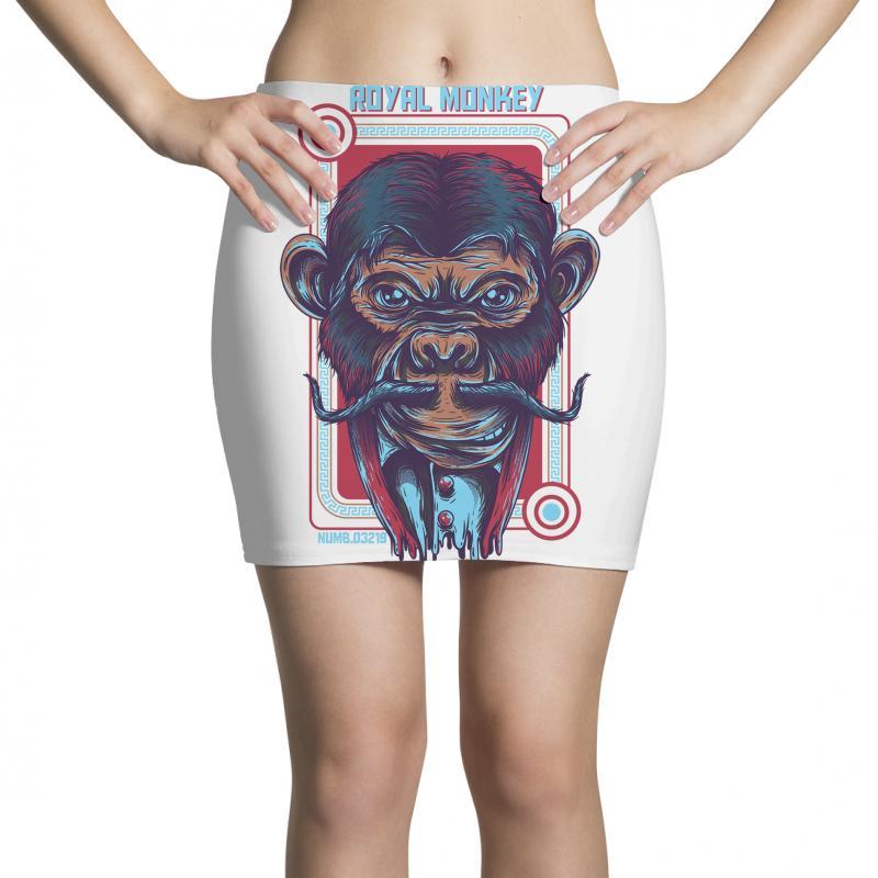Royal Monkey Mini Skirts | Artistshot