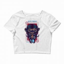 royal monkey Crop Top | Artistshot