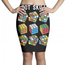 rubik skills Pencil Skirts | Artistshot