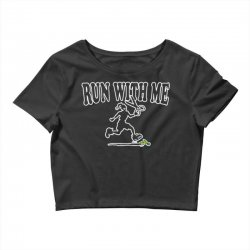 run with me Crop Top | Artistshot