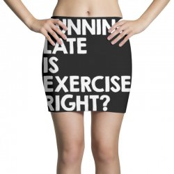 running late exercise Mini Skirts | Artistshot