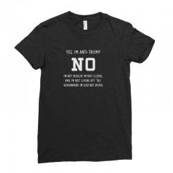 anti trump Ladies Fitted T-Shirt | Artistshot