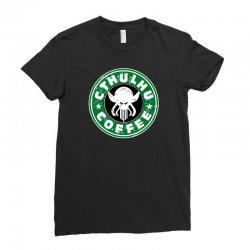 cthulhu coffee Ladies Fitted T-Shirt | Artistshot