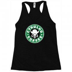 cthulhu coffee Racerback Tank | Artistshot