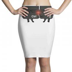 ctrl + zeta in black Pencil Skirts   Artistshot