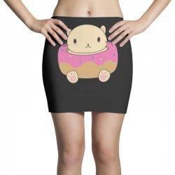 cute cat donut Mini Skirts   Artistshot