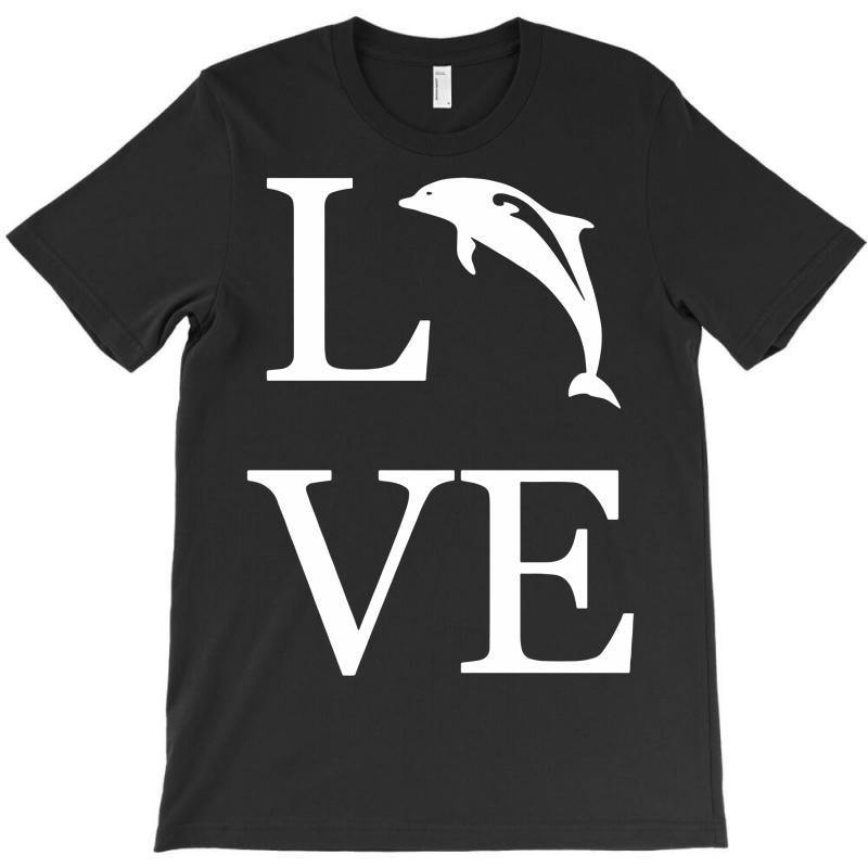 Love Dolphin T-shirt | Artistshot