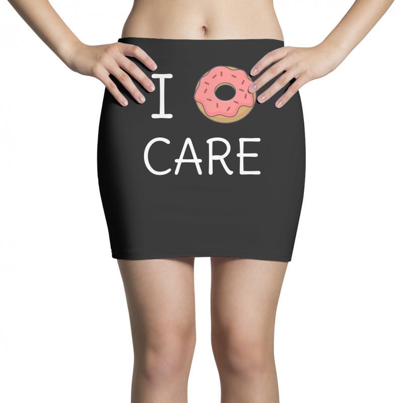 Cute I Donut Care Mini Skirts | Artistshot
