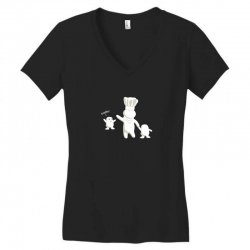 daddy! Women's V-Neck T-Shirt | Artistshot