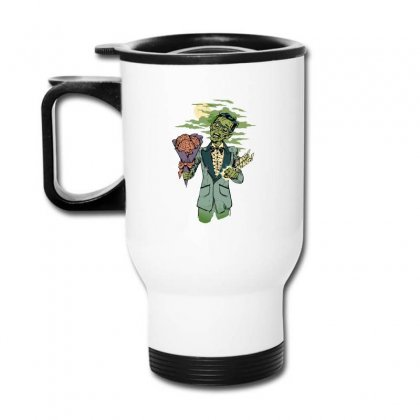 Date Of The Dead Travel Mug Designed By B4en1