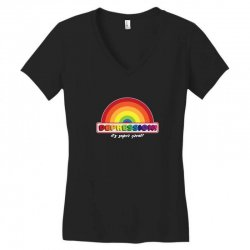 depression! Women's V-Neck T-Shirt | Artistshot