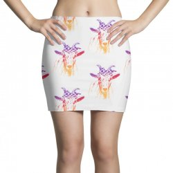farmer goat Mini Skirts   Artistshot