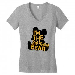 i'm the brother bear for light Women's V-Neck T-Shirt | Artistshot