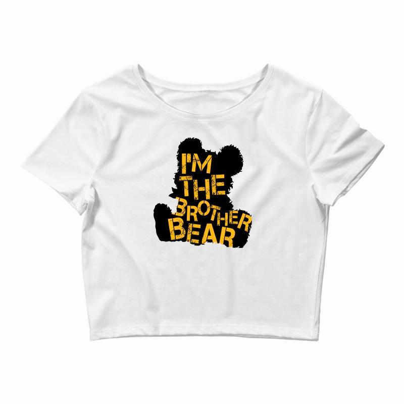 I'm The Brother Bear For Light Crop Top | Artistshot