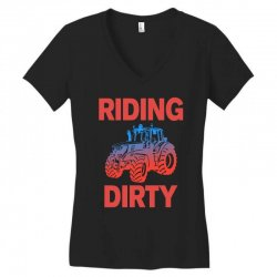 riding dirty Women's V-Neck T-Shirt | Artistshot
